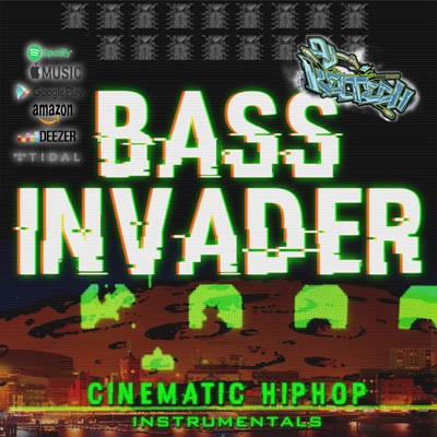 Bass Invader Album DJ Keltech OUT NOW